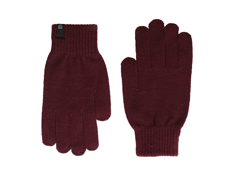 Brixton - Heist Full Finger Glove (Burgundy) Extreme Cold Weather Gloves