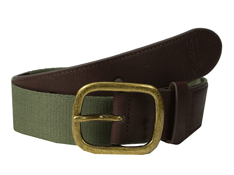 Brixton - Course Belt (Olive) Men's Belts