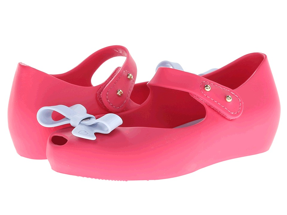 Mini Melissa - Mini Ultra Girl Bow (Toddler) (Pink) Girl's Shoes