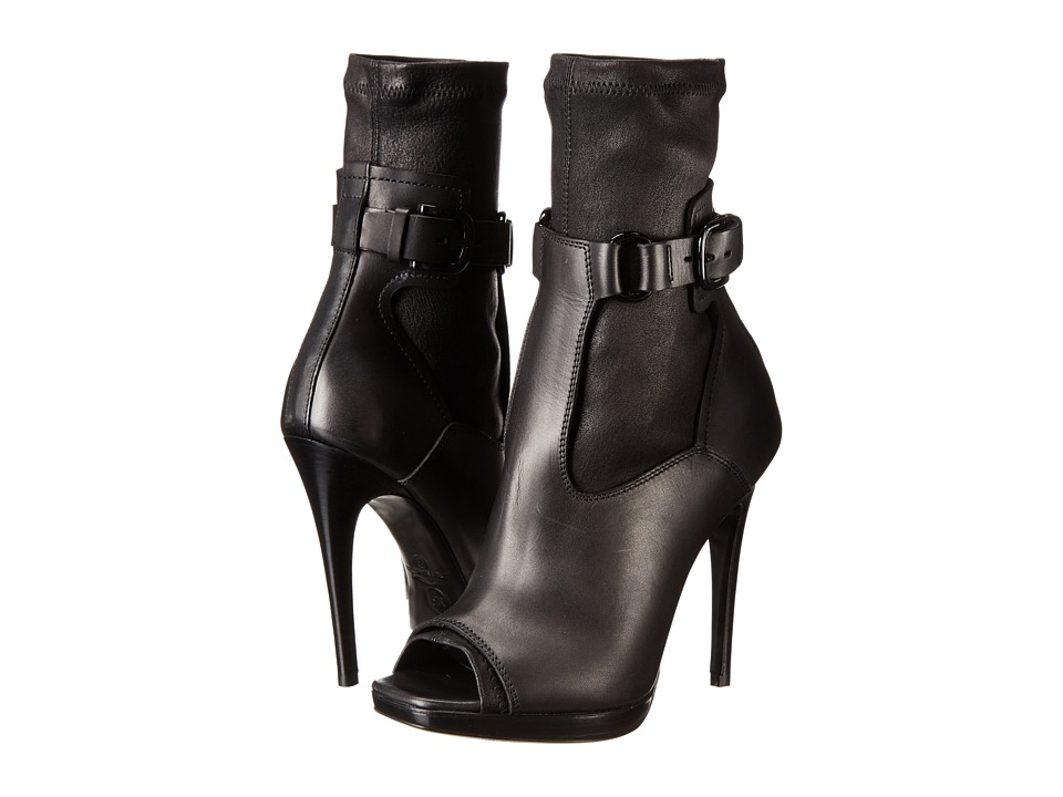 McQ - Lara Sock Sandal (Black) High Heels