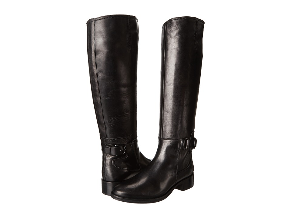 McQ - Bridal Riding Boot (Black) Women's Pull-on Boots