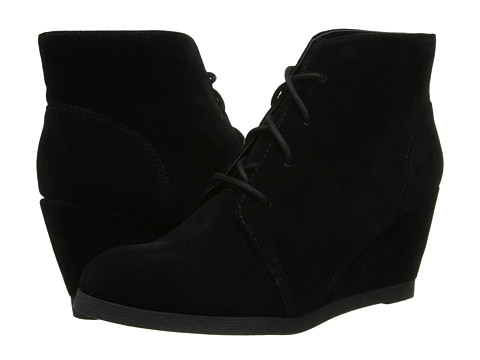 Madden Girl - Domain (Black Micro) Women's Wedge Shoes