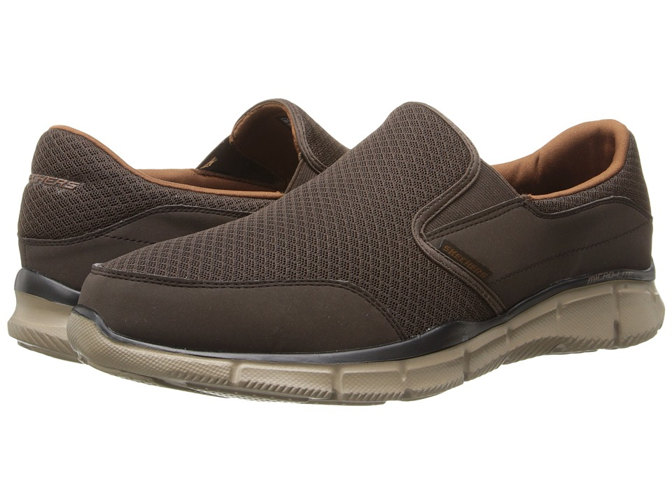 SKECHERS - Equalizer Persistent (Brown) Men's Slip on Shoes