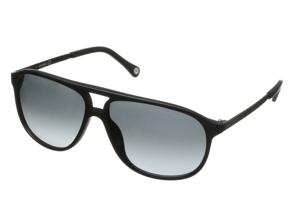 Jack Spade - Haskell/S (Matte Black/Grey Gradient) Fashion Sunglasses
