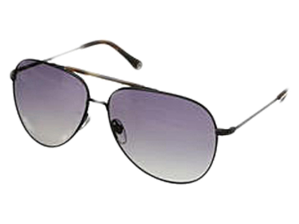 Jack Spade - Hopkins/P/S (Satin Black/Grey Gradient Polarized) Fashion Sunglasses