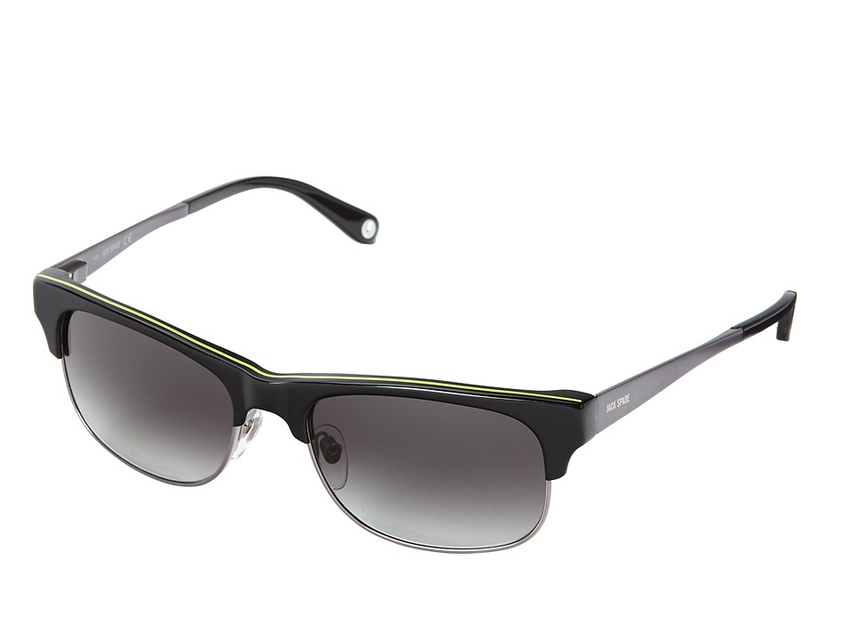 Jack Spade - Sawyer/S (Black/Grey Gradient) Fashion Sunglasses