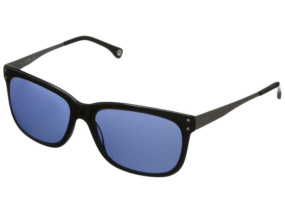 Jack Spade - Lawrence/S (Black/Blue) Fashion Sunglasses