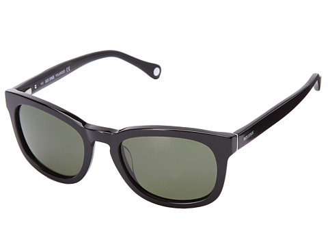 Jack Spade - Bryant/P/S (Black/Green Polarized) Fashion Sunglasses