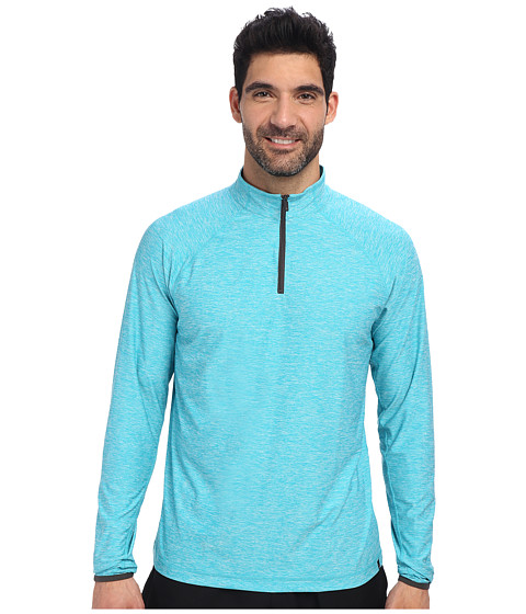 Soybu - Continuum 1/2 Zip (Arctic) Men's Long Sleeve Pullover