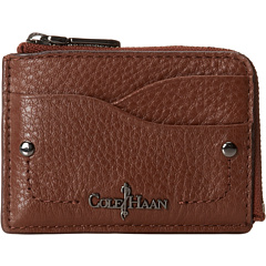 SALE! $24.99 - Save $33 on Cole Haan Parker Card Case (Dark Sequoia Box) Bags and Luggage - 56.91% OFF $58.00