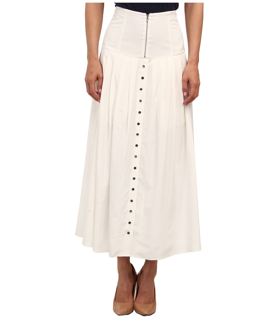 Theory - Swah Skirt (White) Women's Skirt