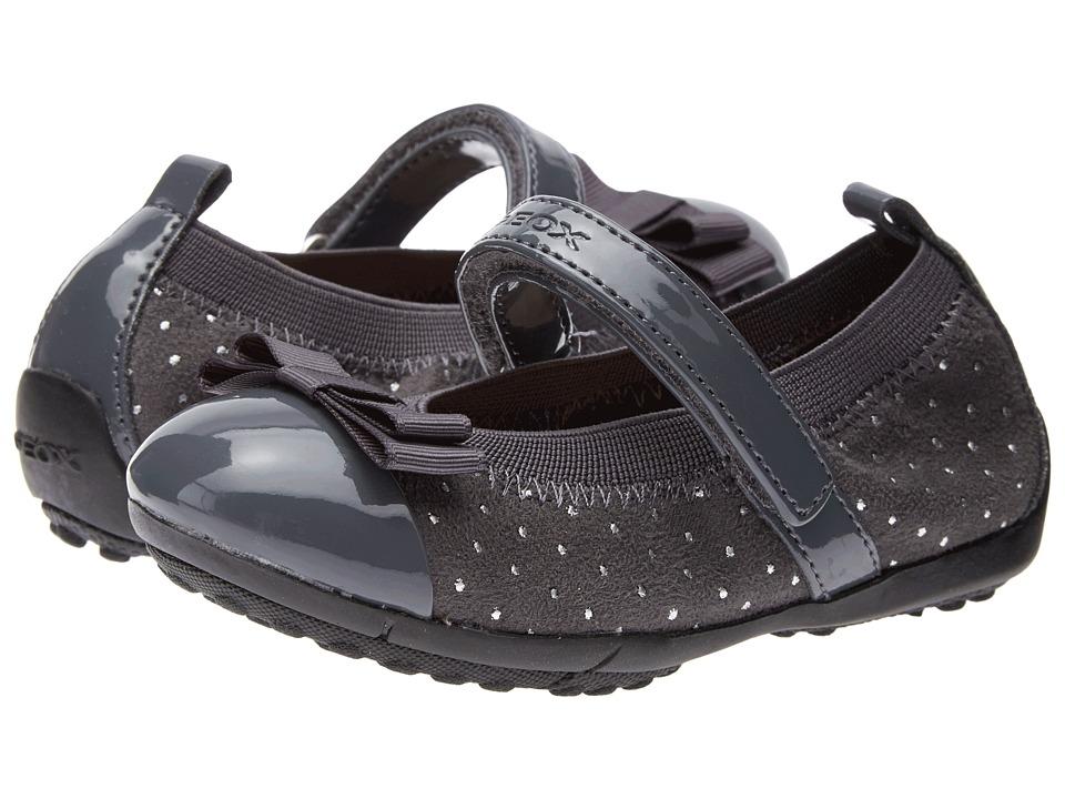Geox Kids - Jr Piuma Ballerina - Glitter (Toddler/Little Kid) (Grey) Girl's Shoes