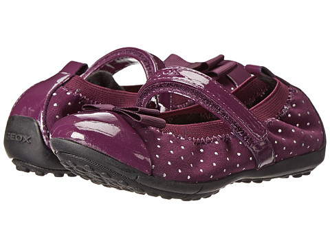 Geox Kids - Jr Piuma Ballerina - Glitter (Toddler/Little Kid) (Purple) Girl