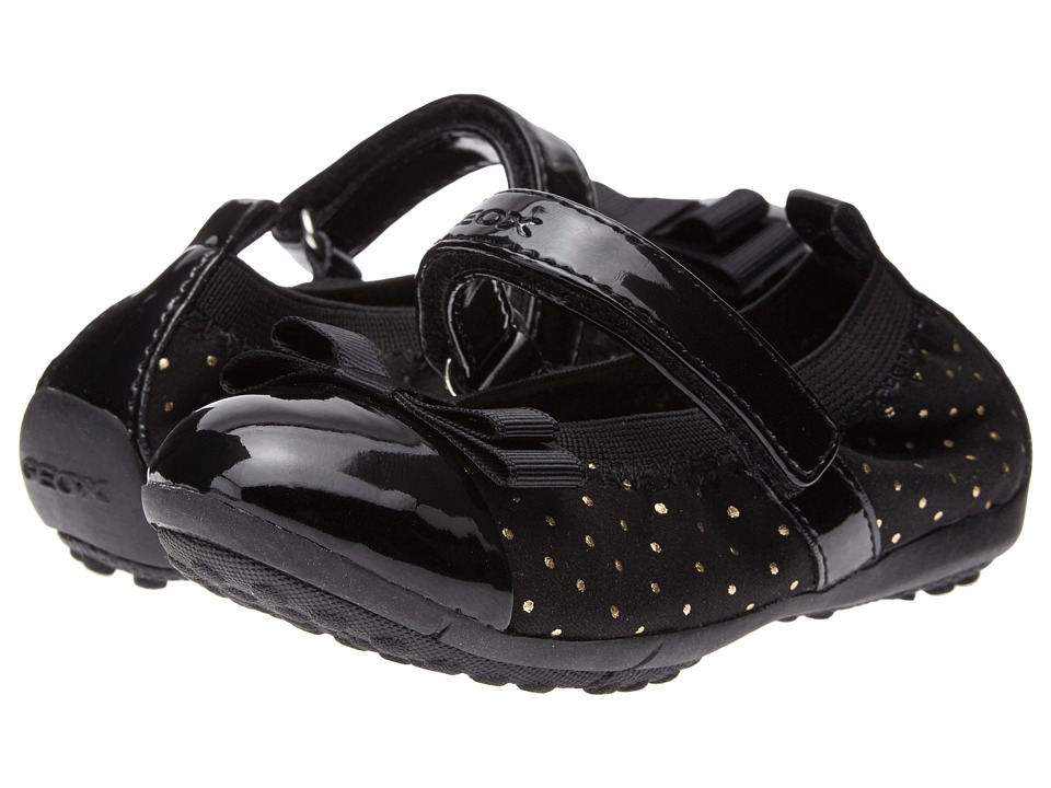 Geox Kids - Jr Piuma Ballerina - Glitter (Toddler/Little Kid) (Black) Girl's Shoes