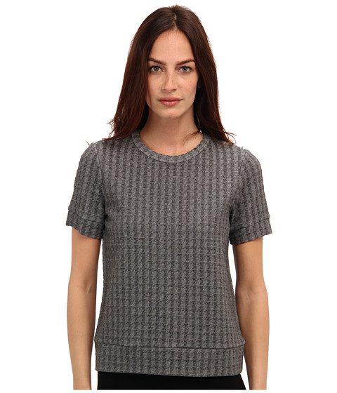 Theory - Tilma B Top (Heather Grey) Women