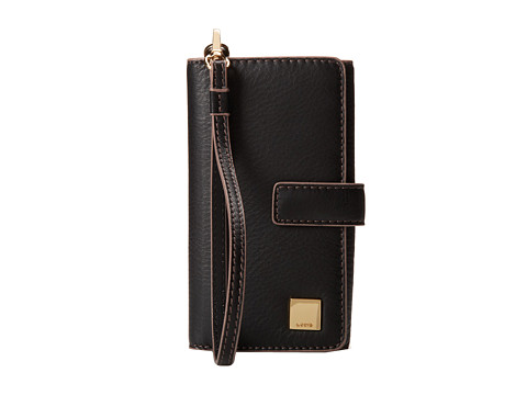 Lodis Accessories - Mill Valley Cassie Phone Wallet w/ RFID (Black) Wallet Handbags