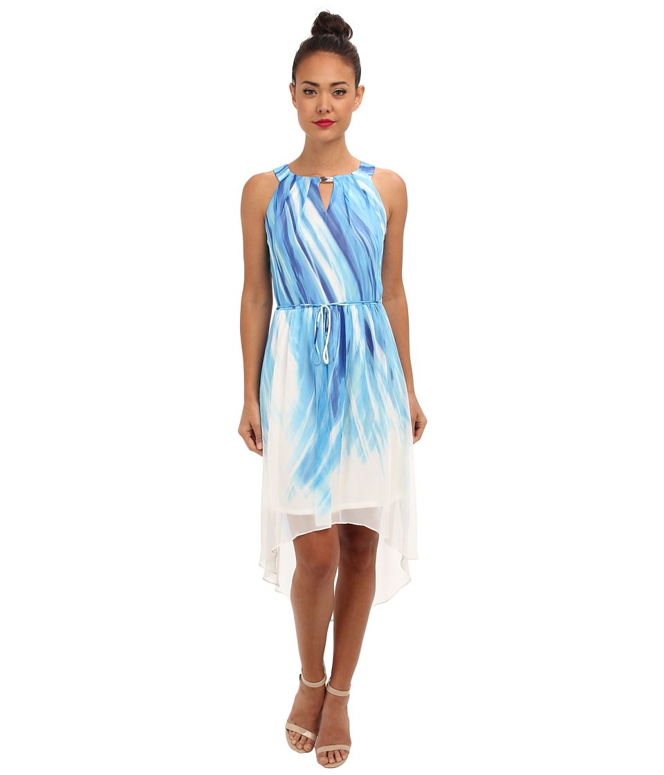 rsvp - Daniela Dress (Blue Multi) Women's Dress