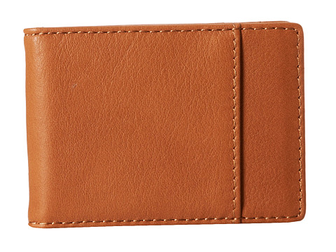 Lodis Accessories - Mill Valley Bi-Fold Money Clip w/ RFID (Toffee) Wallet Handbags
