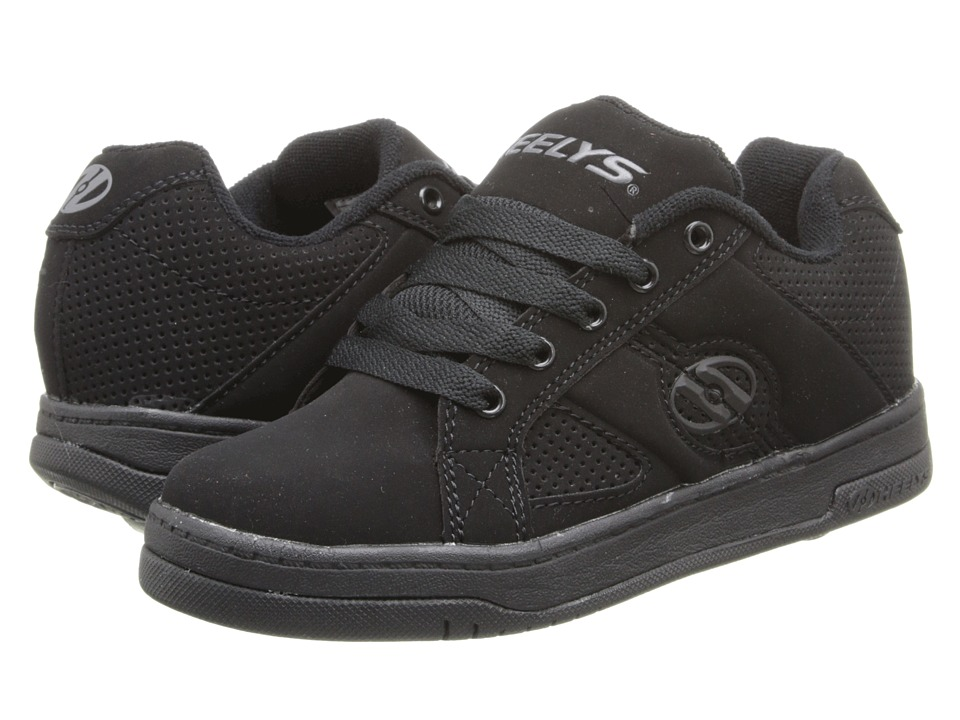 Heelys - Split (Little Kid/Big Kid/Men's) (Black/Black) Boys Shoes