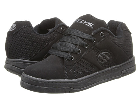 Heelys - Split (Little Kid/Big Kid/Men's) (Black/Black) Boys Shoes