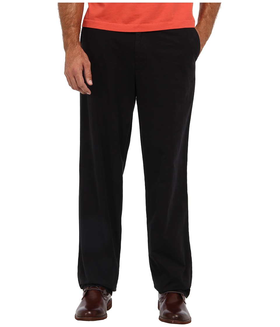 Tommy Bahama Big & Tall - Big Tall Del Chino Pant (Black) Men's Casual Pants