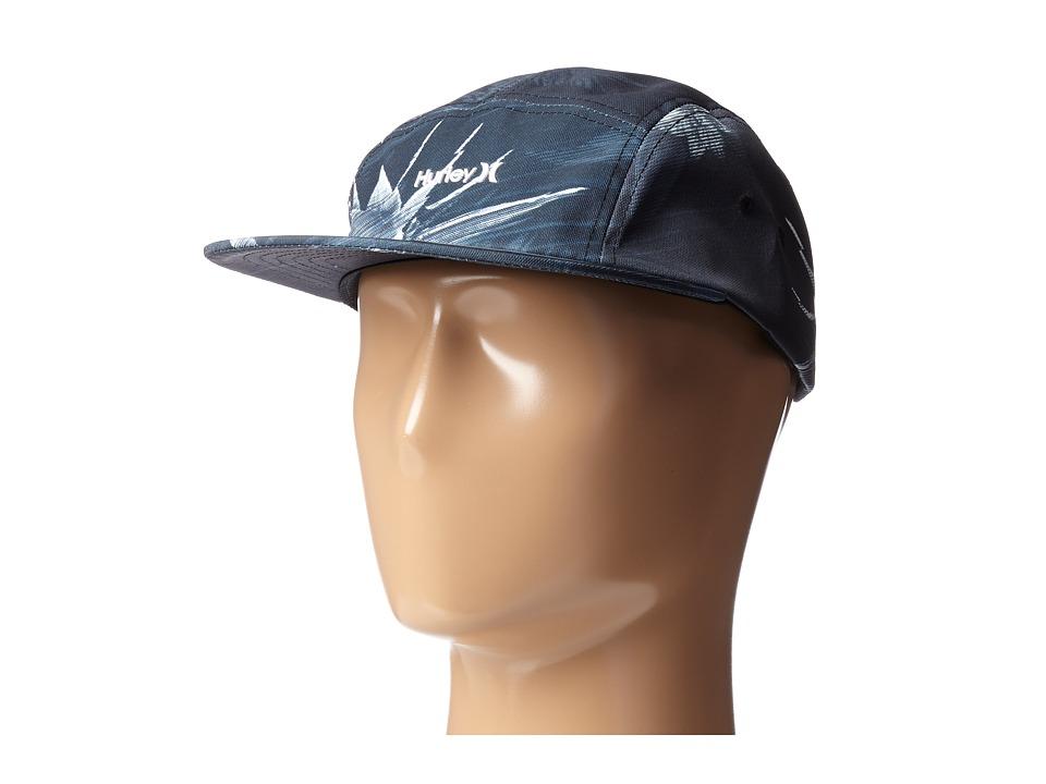 Hurley - Geo Glitch Camper Hat (Black) Caps