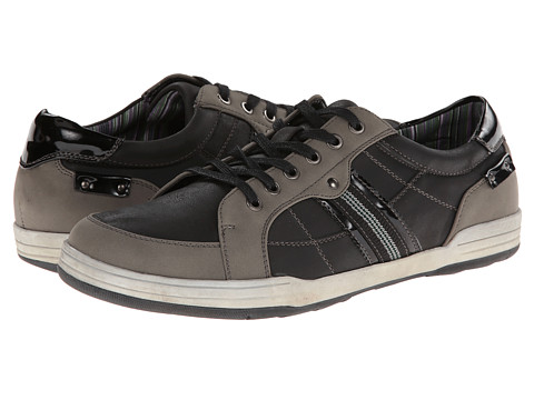 Kenneth Cole Unlisted - Race Track (Black) Men's Lace up casual Shoes