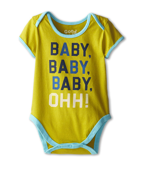 Life is good Kids - Baby Ohh! One Piece (Infant) (Retro Green) Kid's Jumpsuit & Rompers One Piece