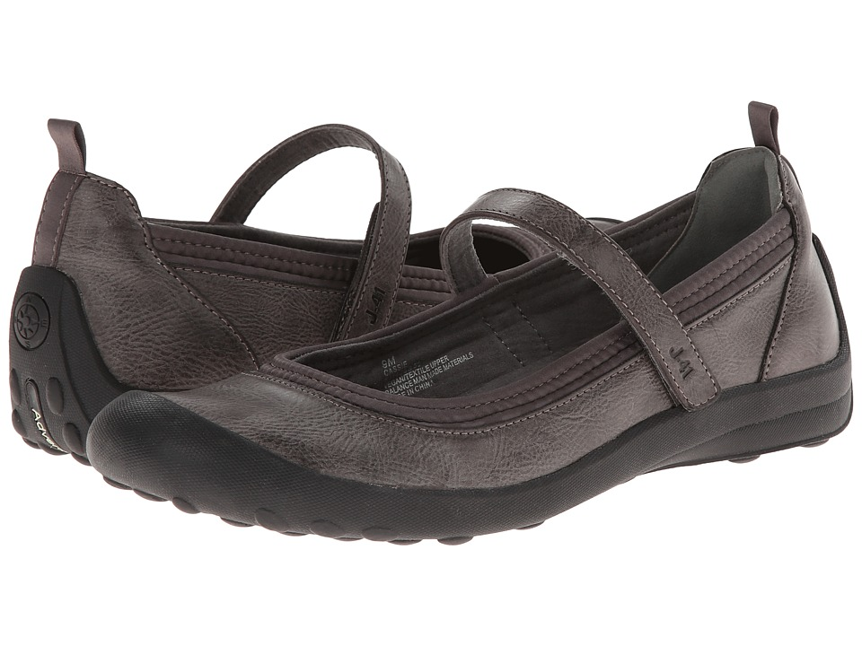 J-41 - Cassie (Charcoal) Women's Slip on Shoes