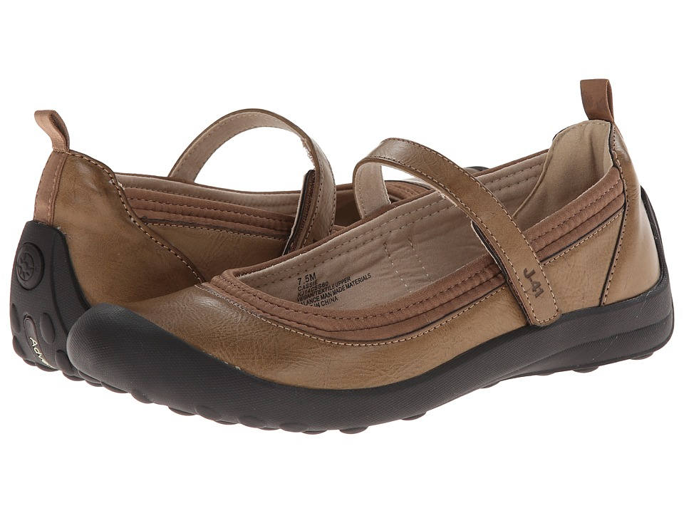 J-41 - Cassie (Mocha) Women's Slip on Shoes
