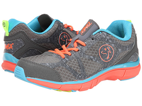 Zumba - Zumba Fly Fade (Graphite/Island Blue) Women's Shoes