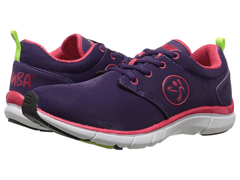 Zumba - Zumba Fly Print (Acai/Raspberry) Women's Shoes