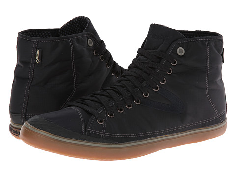 Tretorn - Skymra Mid SL Gore-tex (Black Gum) Lace up casual Shoes