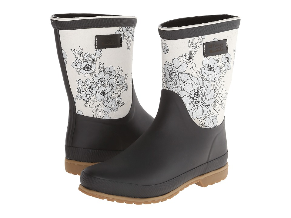 Tretorn - Elsa - Florence Broadhurst (Phantom Black) Women's Rain Boots