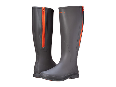 Tretorn - Lady (Grey/Orange) Women's Rain Boots