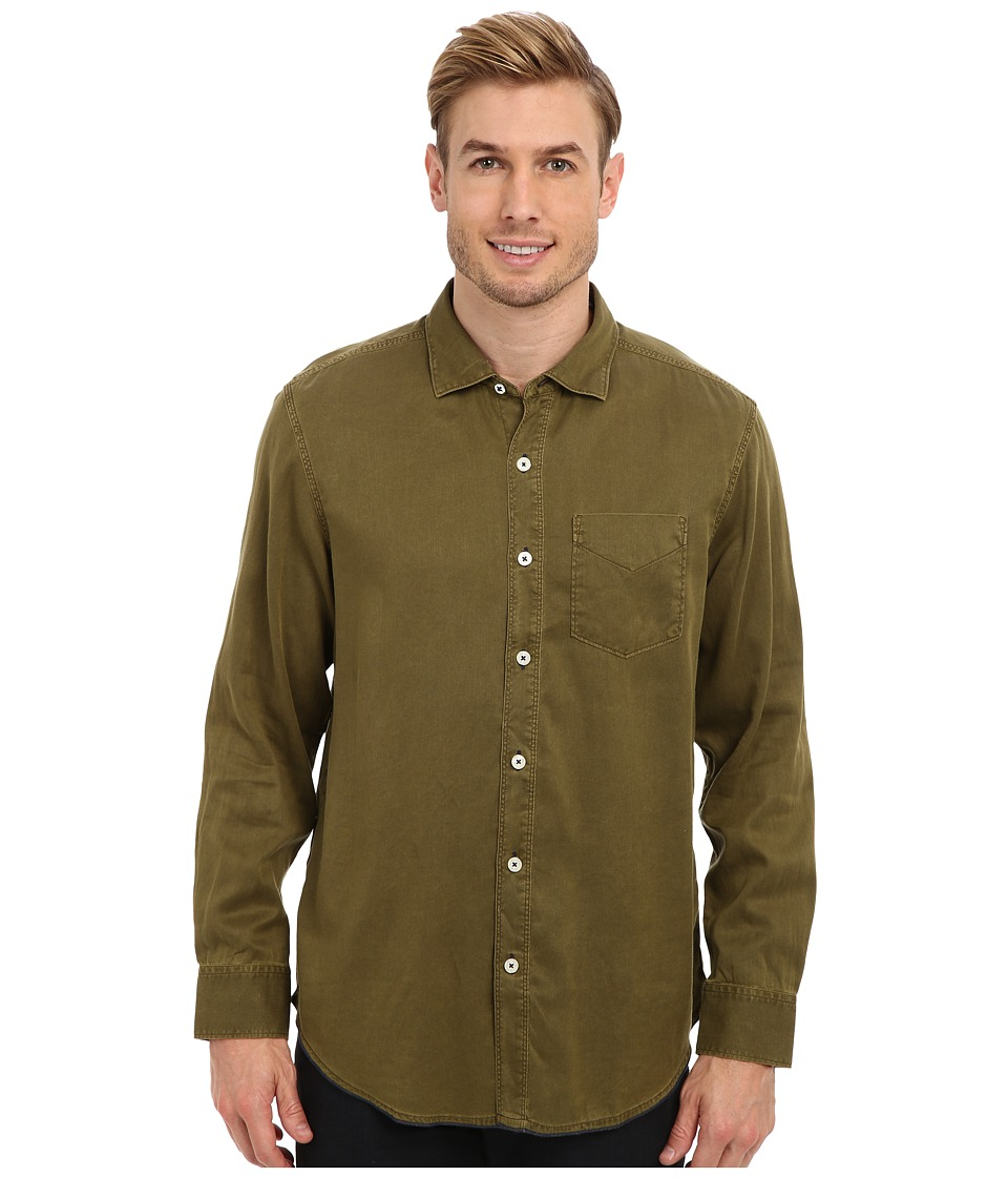 Tommy Bahama - Island Modern Fit Still Twillin' L/S Shirt (Tank) Men's Long Sleeve Button Up