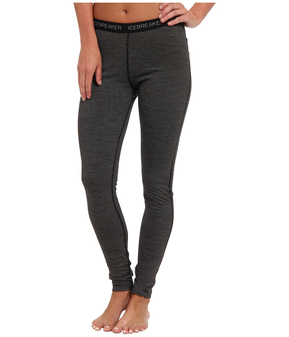 Icebreaker - Oasis Legging (Black/Black) Women's Casual Pants