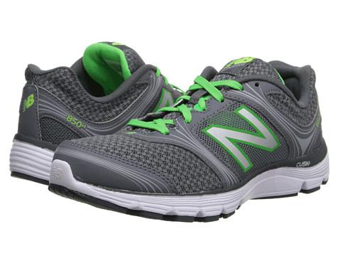 New Balance - W850v1 (Grey/Green) Women's Running Shoes