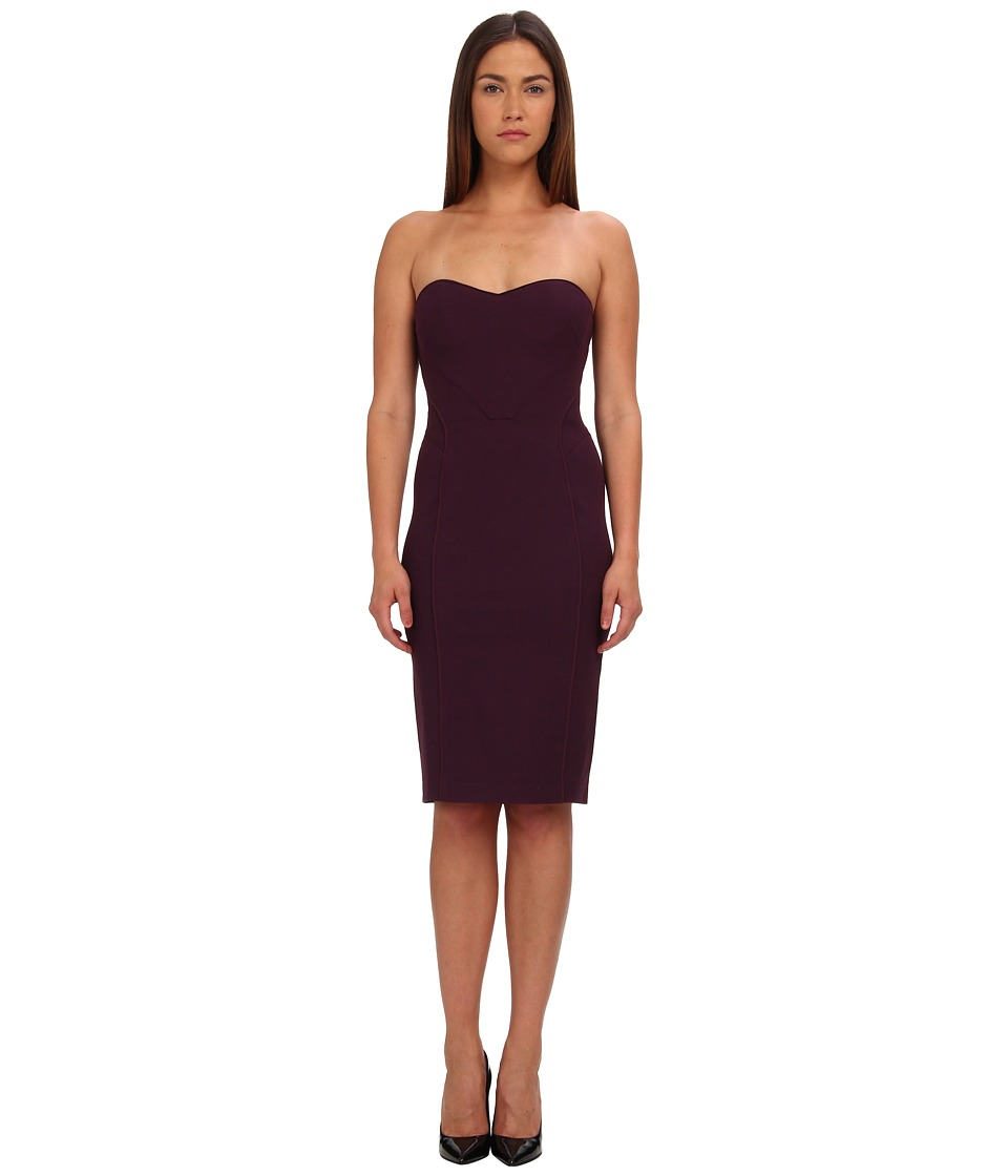Zac Posen - Strapless Fitted Cocktail Dress (Amethyst) Women's Dress