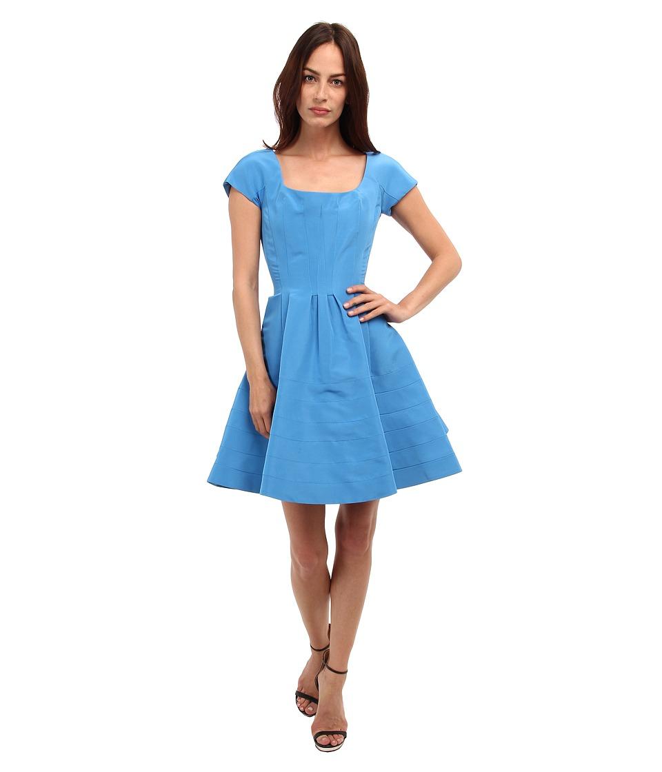 Zac Posen - CL01-5067-43 (Capri Blue) Women's Dress
