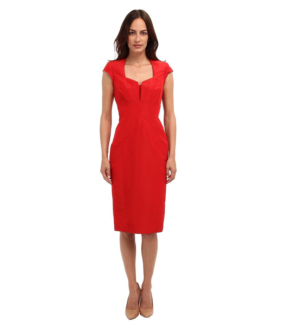 Zac Posen - CL01-5001-43 (Grenadine) Women's Dress