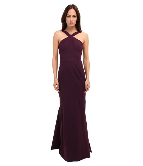 Zac Posen - 40-8002-43 (Amethyst) Women's Dress