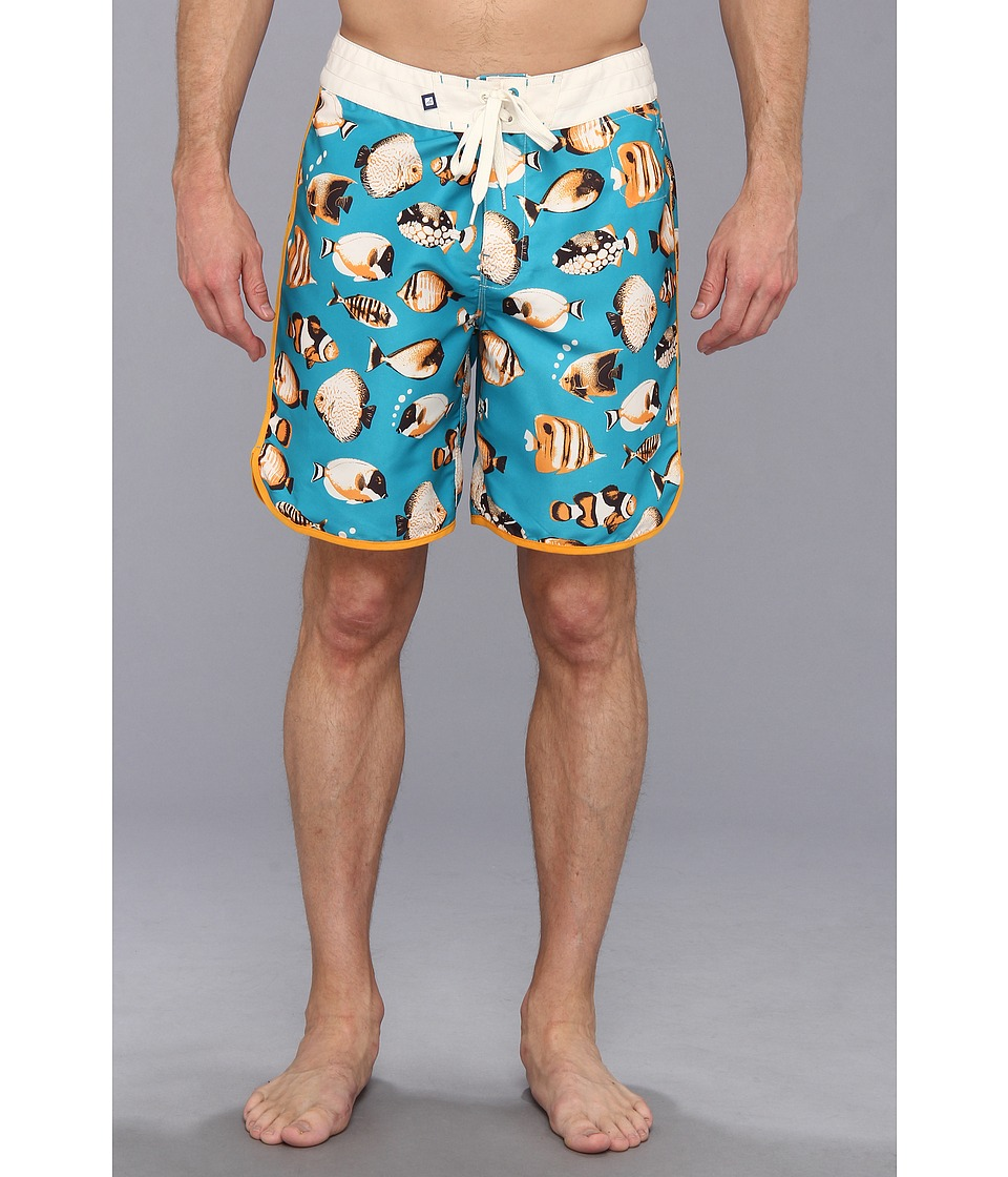 Sperry Top-Sider - Catch of the Day 19 Boardshort (Blue) Men