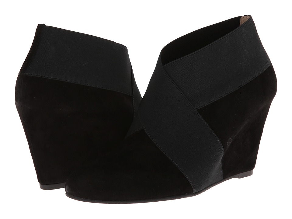 Via Spiga - Adela (Black Kid Suede/Elastic) Women
