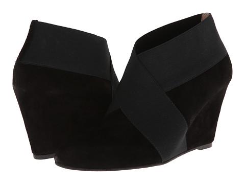 Via Spiga - Adela (Black Kid Suede/Elastic) Women's Shoes