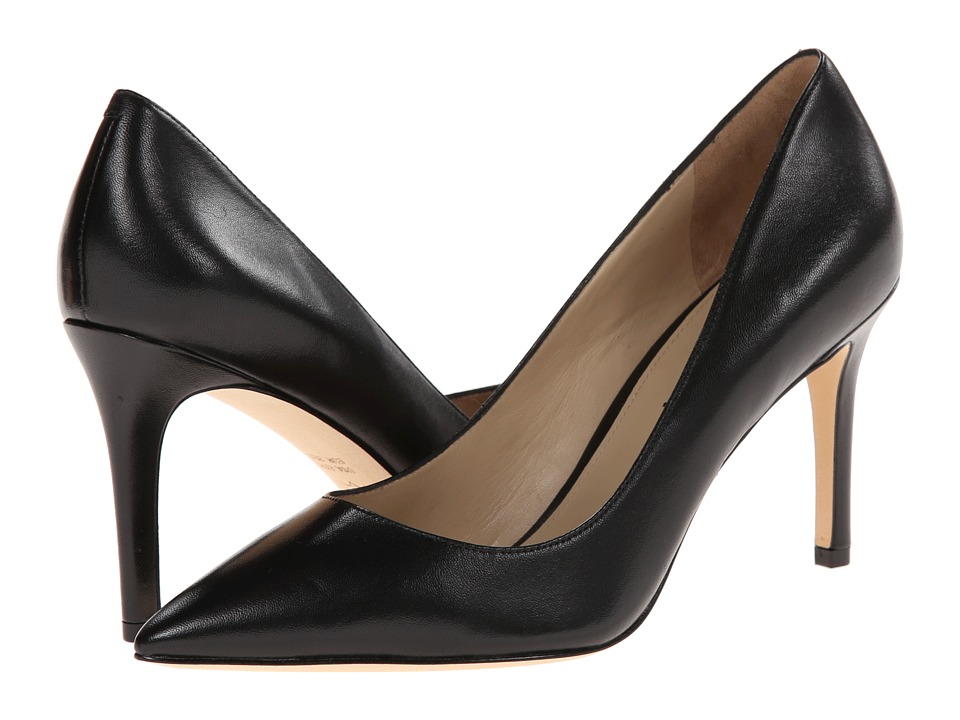 Via Spiga Carola (Black Nappa Leather) High Heels