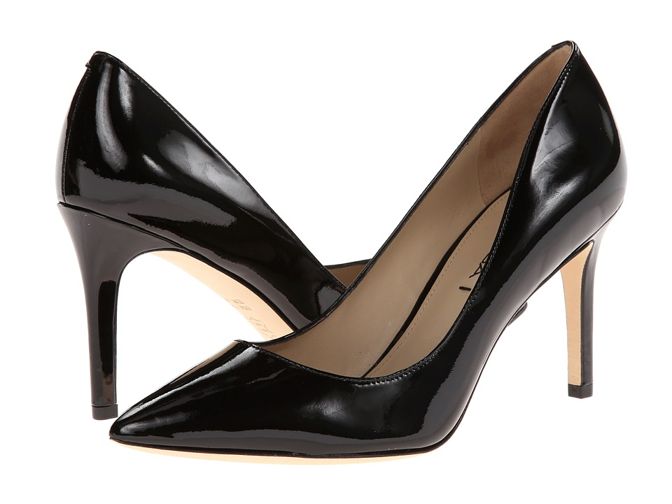 Via Spiga - Carola (Black Patent) High Heels