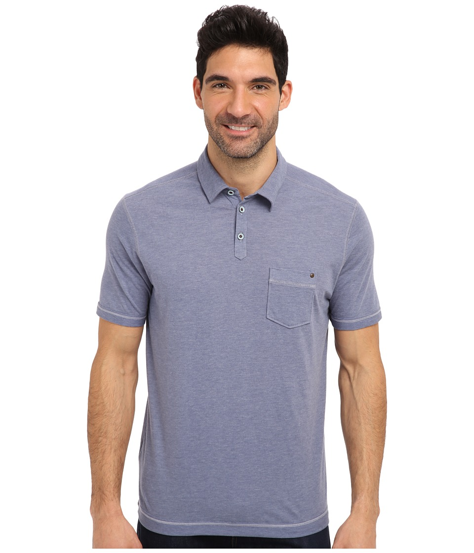Tommy Bahama - New Porta Polo (Blue Haze) Men's Short Sleeve Knit
