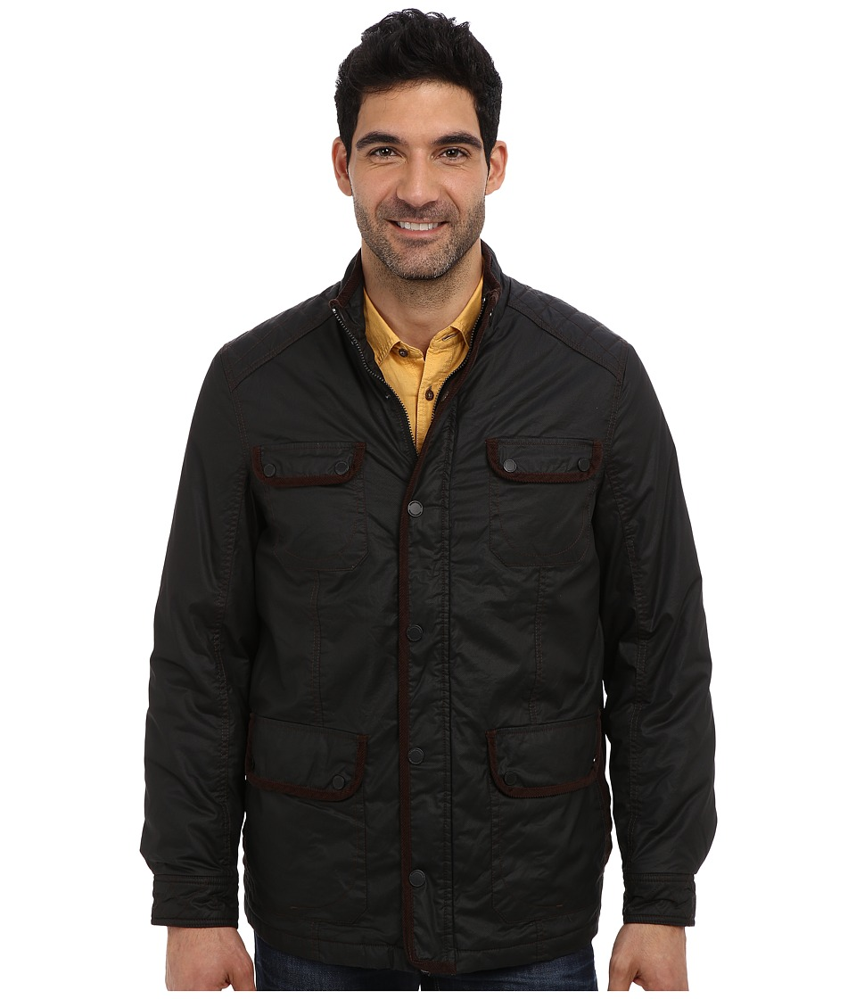 Tommy Bahama - North Sea Field Jacket (Black) Men's Jacket