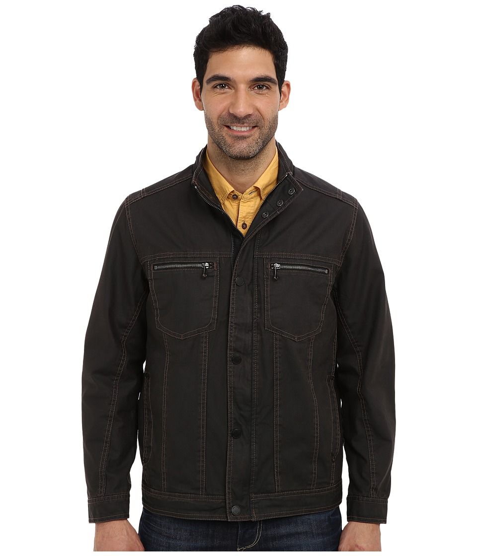 Tommy Bahama - Flat Iron Jacket (Coffee) Men's Jacket